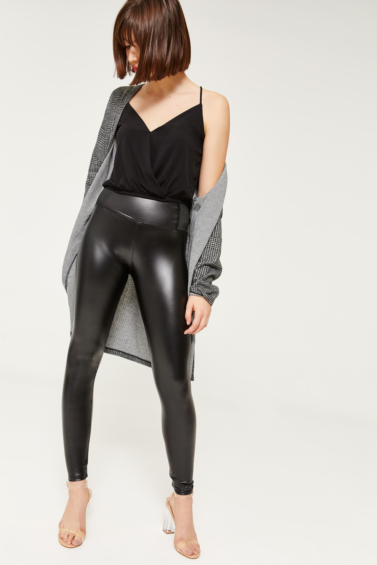 Faux Leather Leggings Clothing Ardene