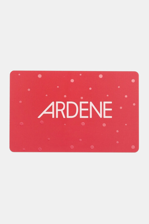 Red Holiday Gift Card