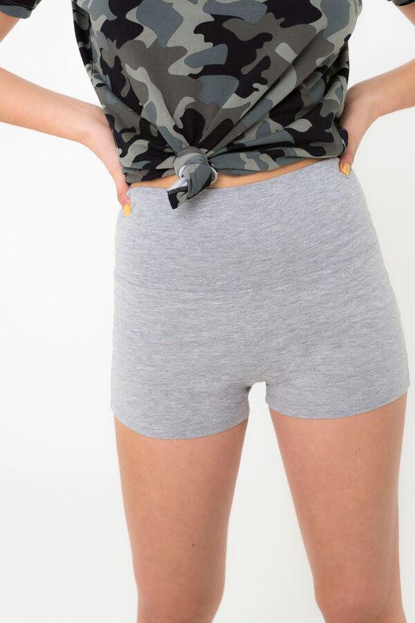 6c4616936a Ardene Ardene Women's Fold Over Waist Shorts, grey, fall winter 2018  CLOTHING, ...