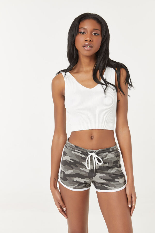 Deluxe Camo Lounge Shorts