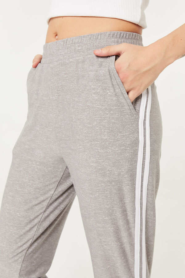 Jogging à rayures latérales Basic