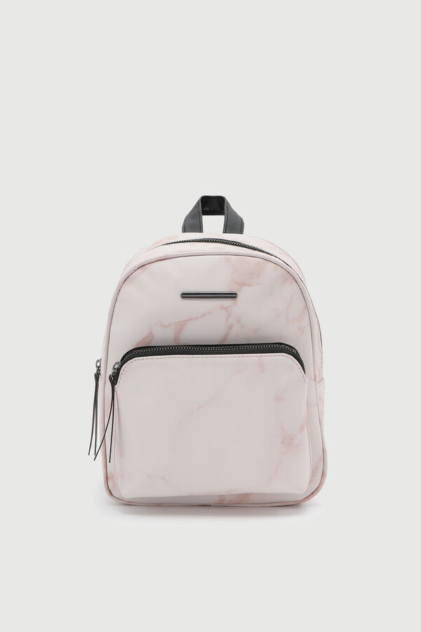 Marbled Simple Backpack