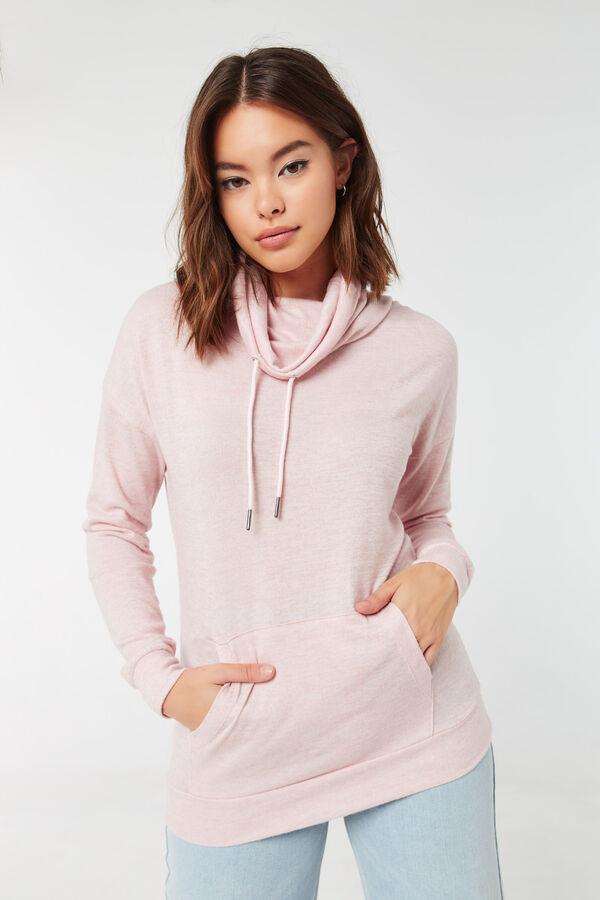 Long Length Funnel Neck Sweater
