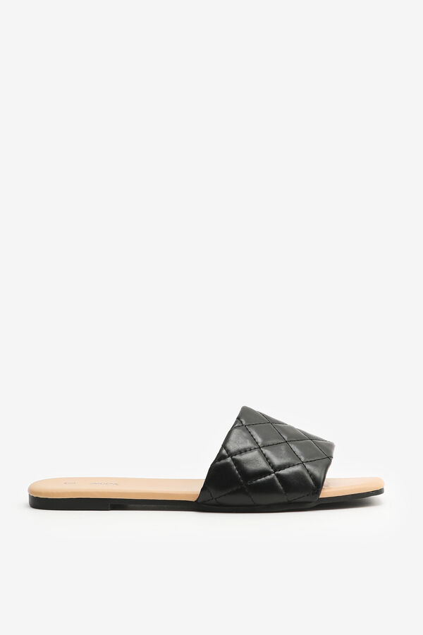 Quilted Sandals