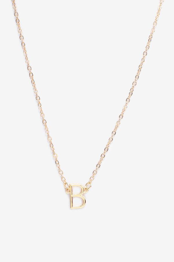 Collier à lettre B