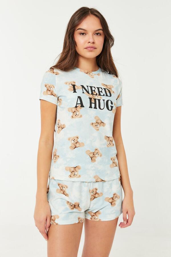 Bear Hug Super Soft 2-Piece PJ Set