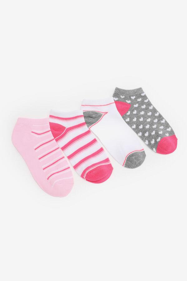 4 paires de socquettes pour filles