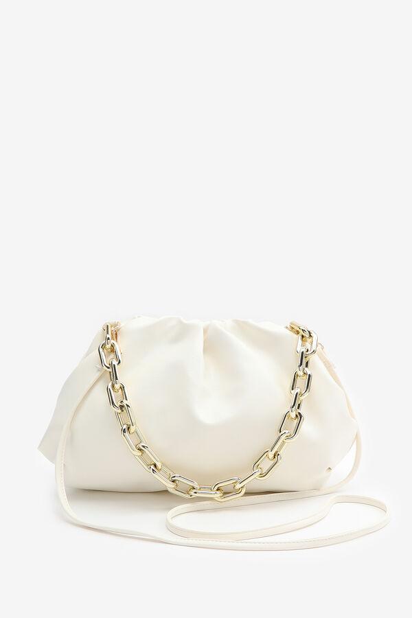 Ruched Clutch Crossbody Bag