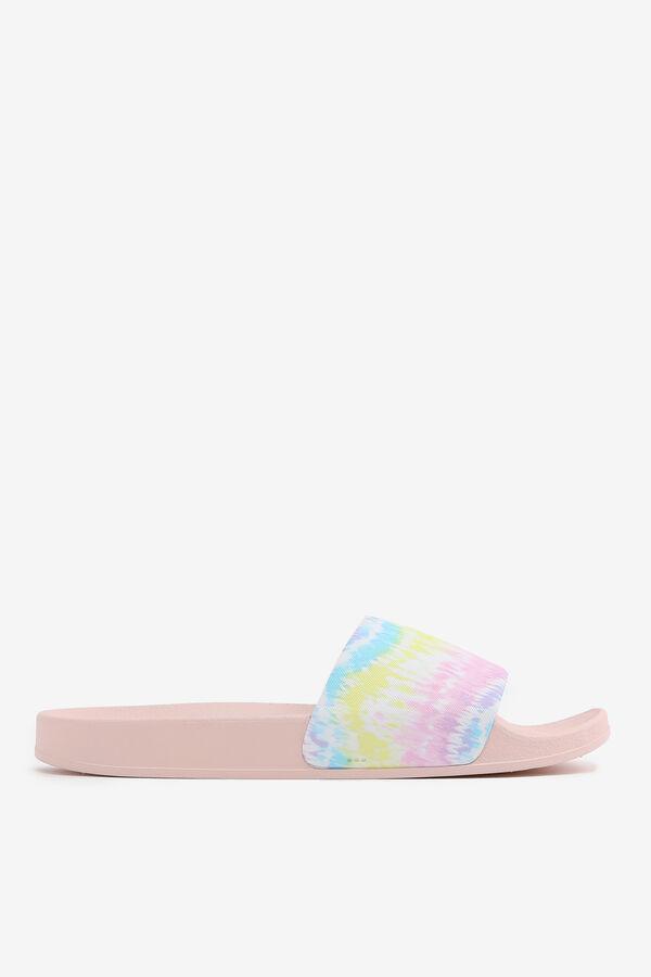 Sandales glissières tie-dye