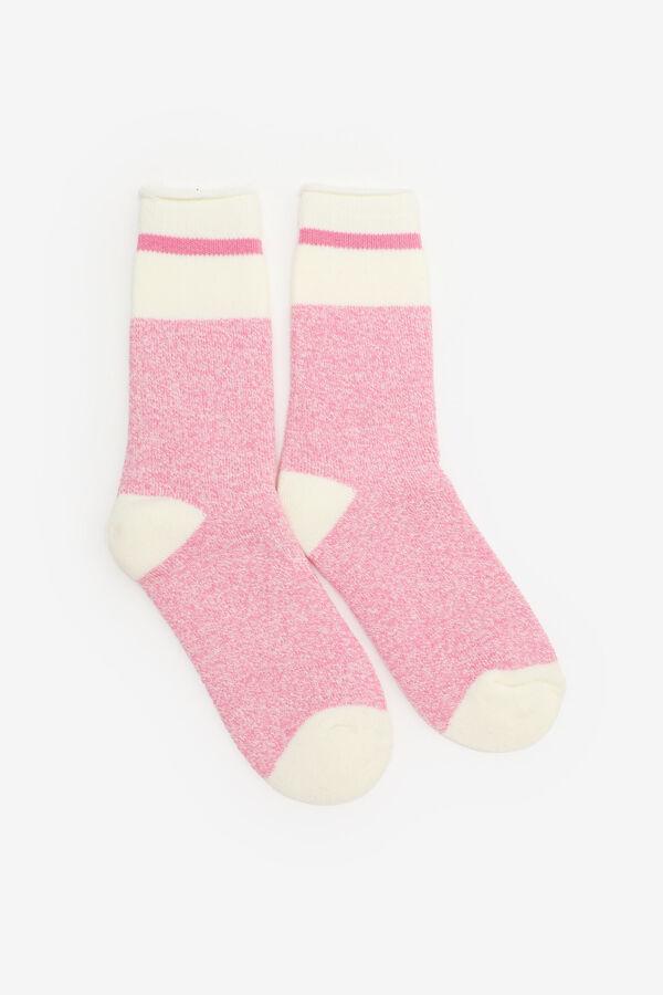Chaussettes pelucheuses isolées pour filles
