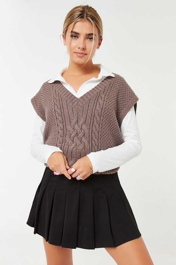 Mini Pleated Skirt