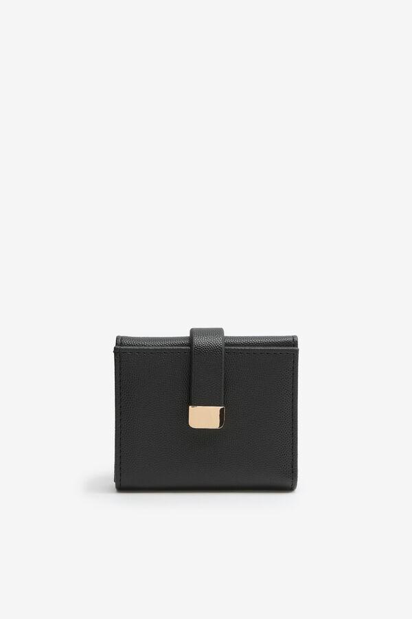 Petit portefeuille en faux cuir