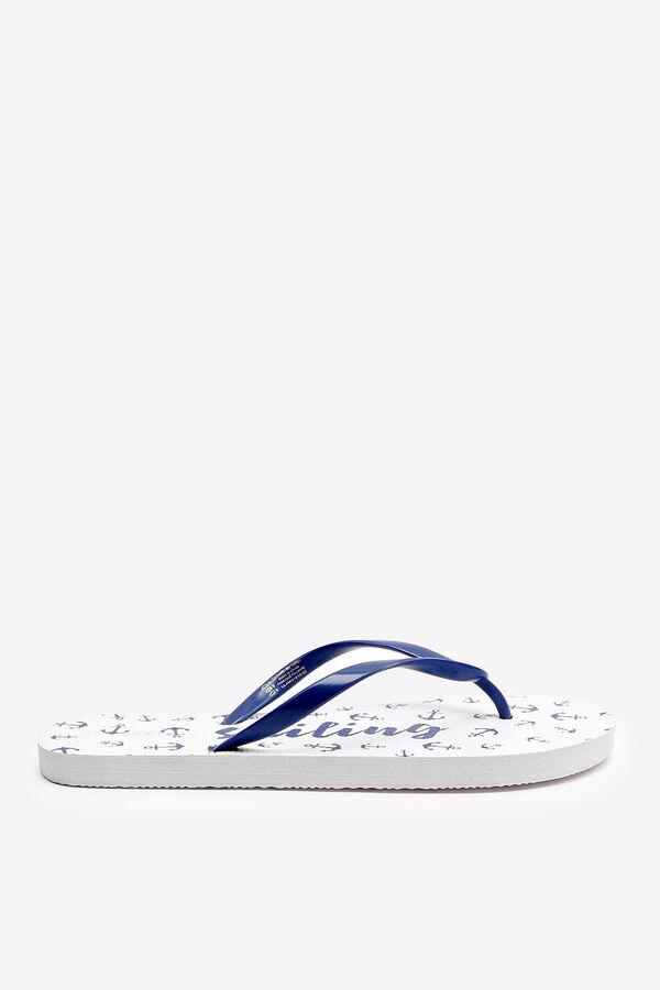 Nautical Flip-Flops