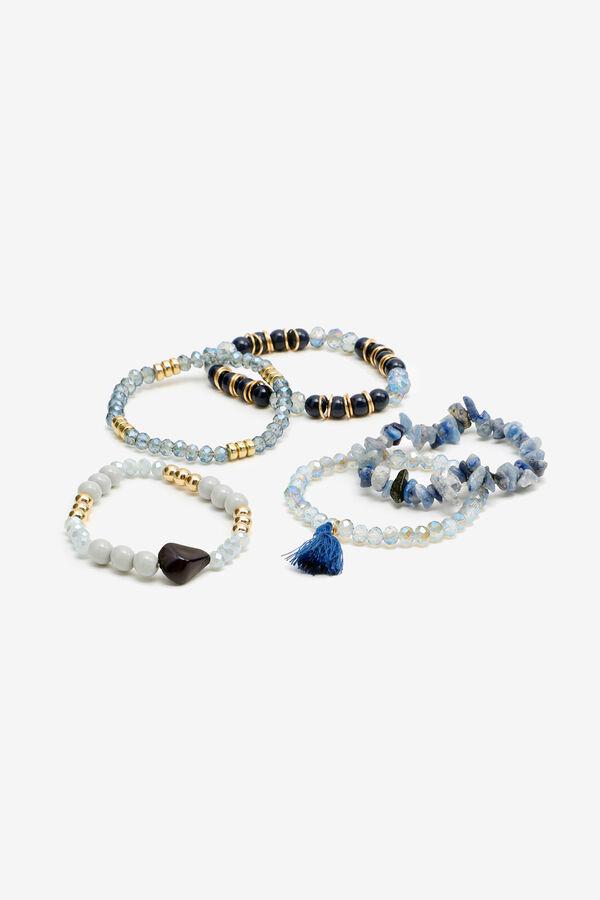 5-Pack Beaded Bracelets