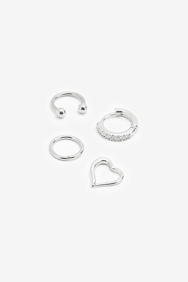Pack of Heart Cartilage Piercings