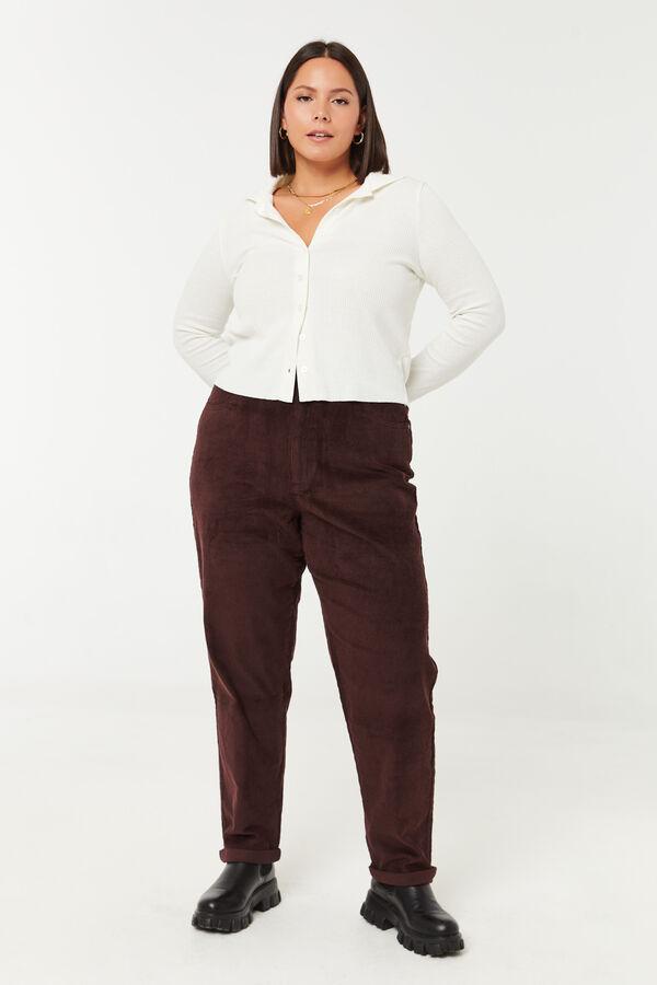Corduroy Mom Pants