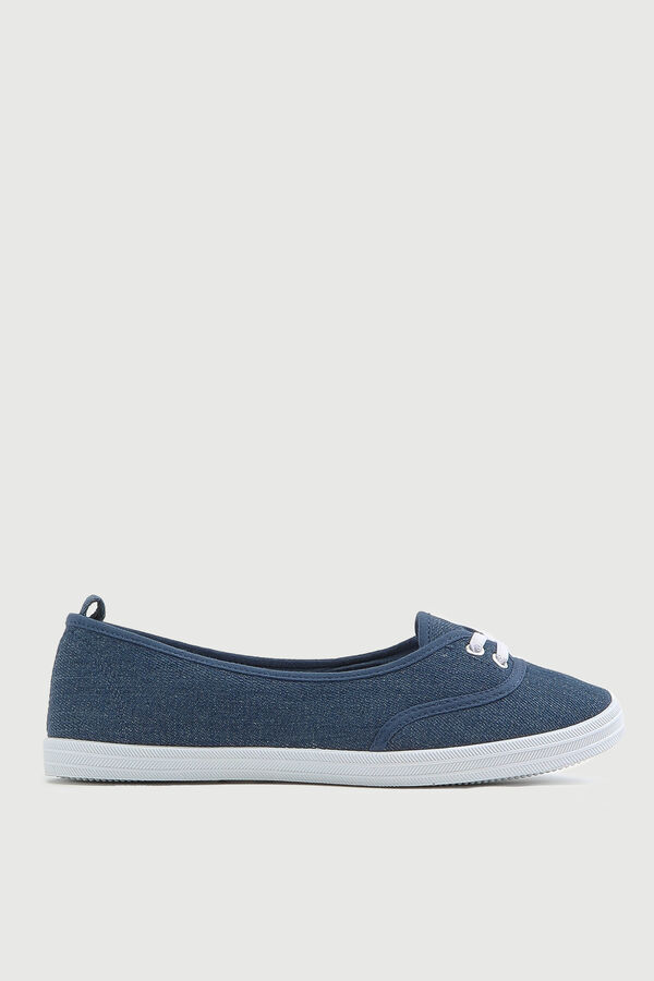 Lace Slip-On Sneakers