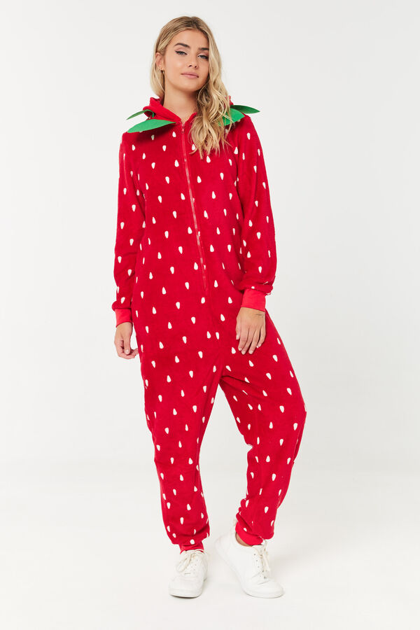 Strawberry Onesie Costume
