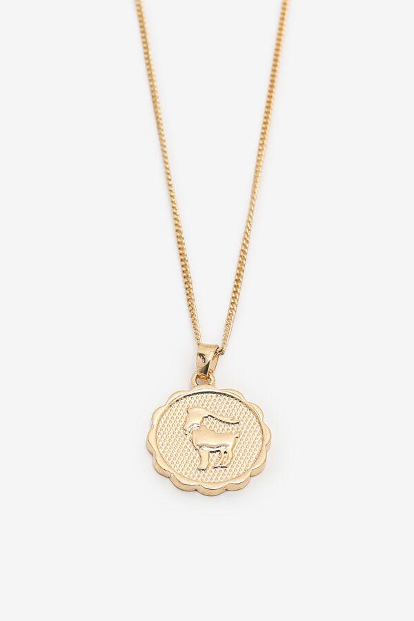 Zodiac Aries Pendant Necklace
