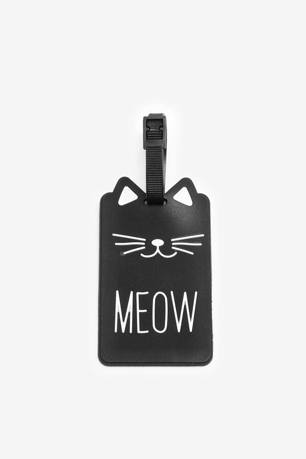 """Meow"" Luggage Tag"
