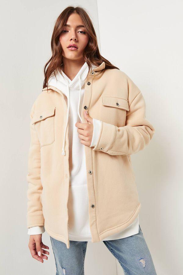 Veste-chemise en polar