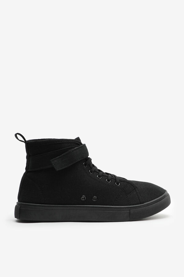 Self-Adhesive High Top Sneakers