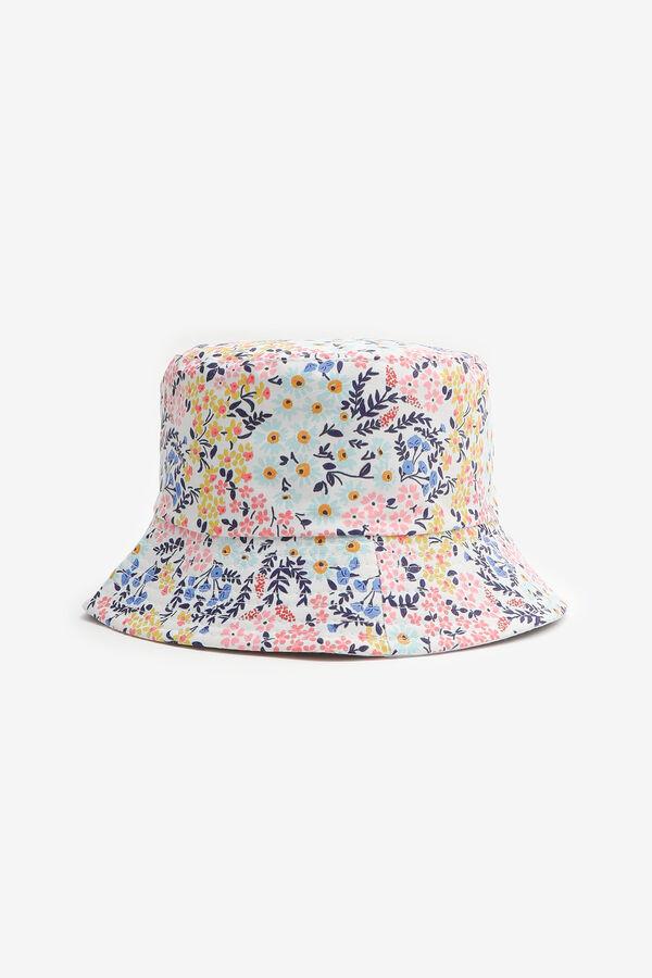 Chapeau de pêche imprimé fleuri
