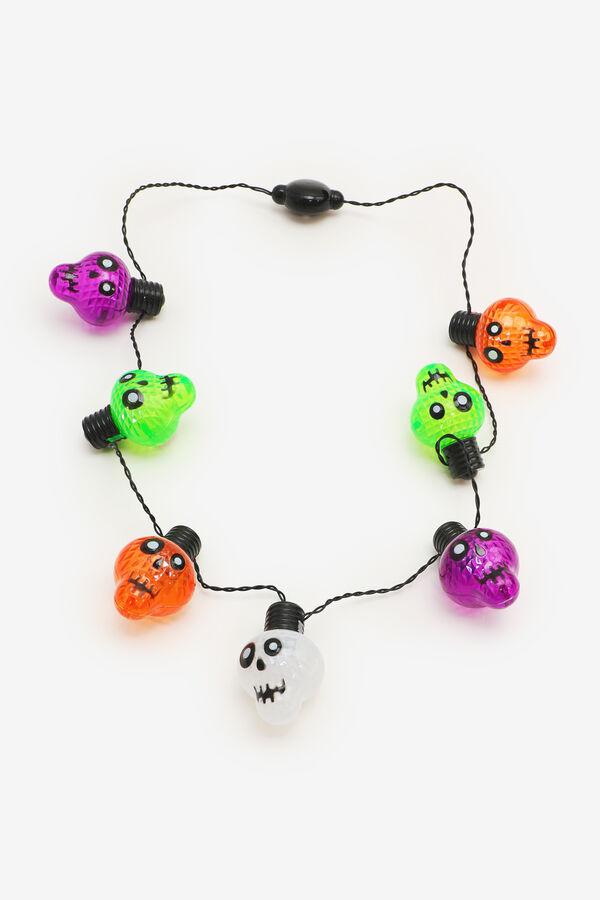 Skull Light-Up Necklace