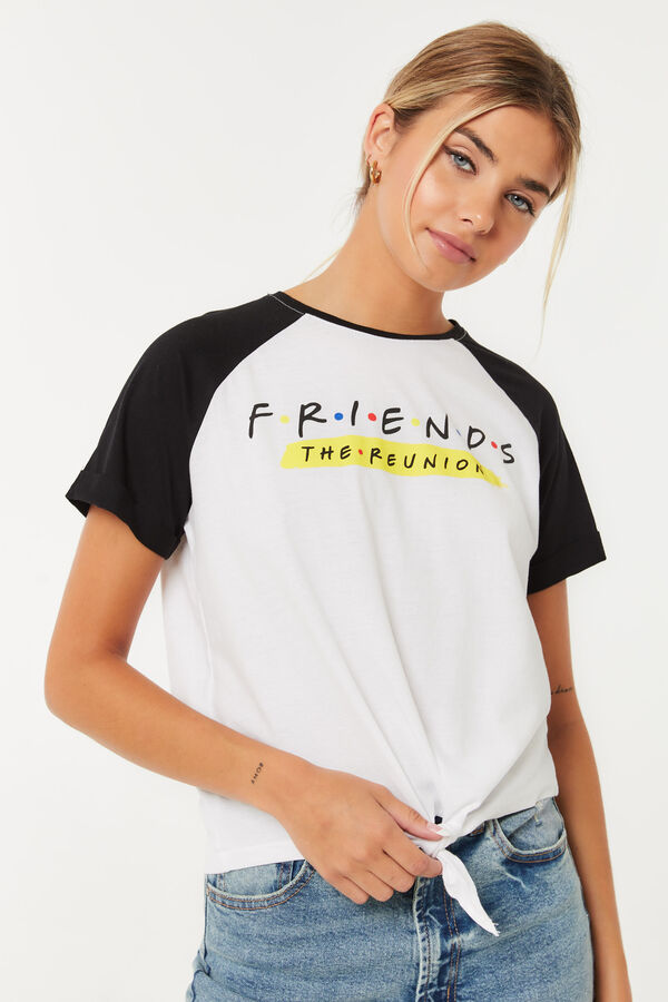 Friends The Reunion knotted Tee