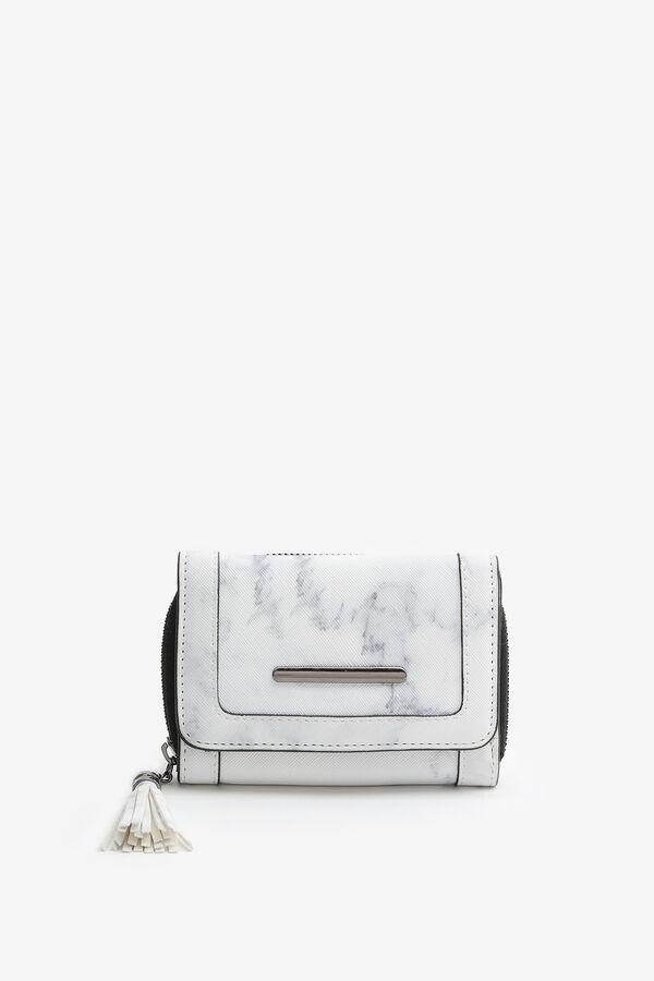 Marble Folded Wallet