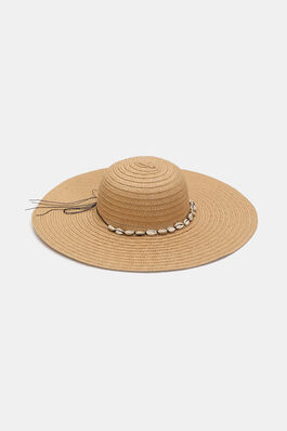 5a3486d9 Shell Straw Hat
