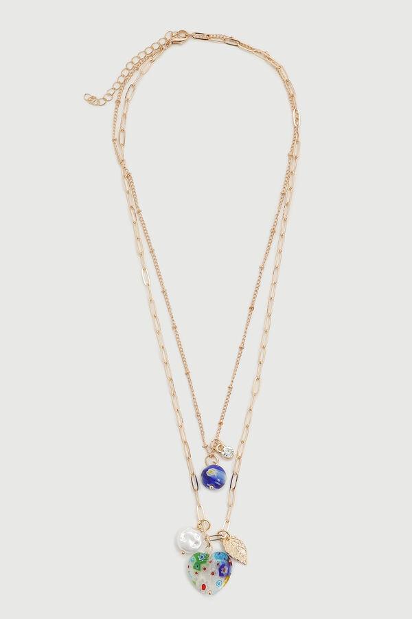 Layered Pendant Necklace - Accessories   Ardene