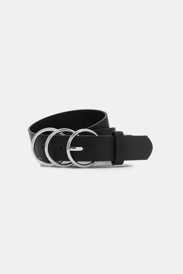 Double Ring Faux Leather Belt by Ardene
