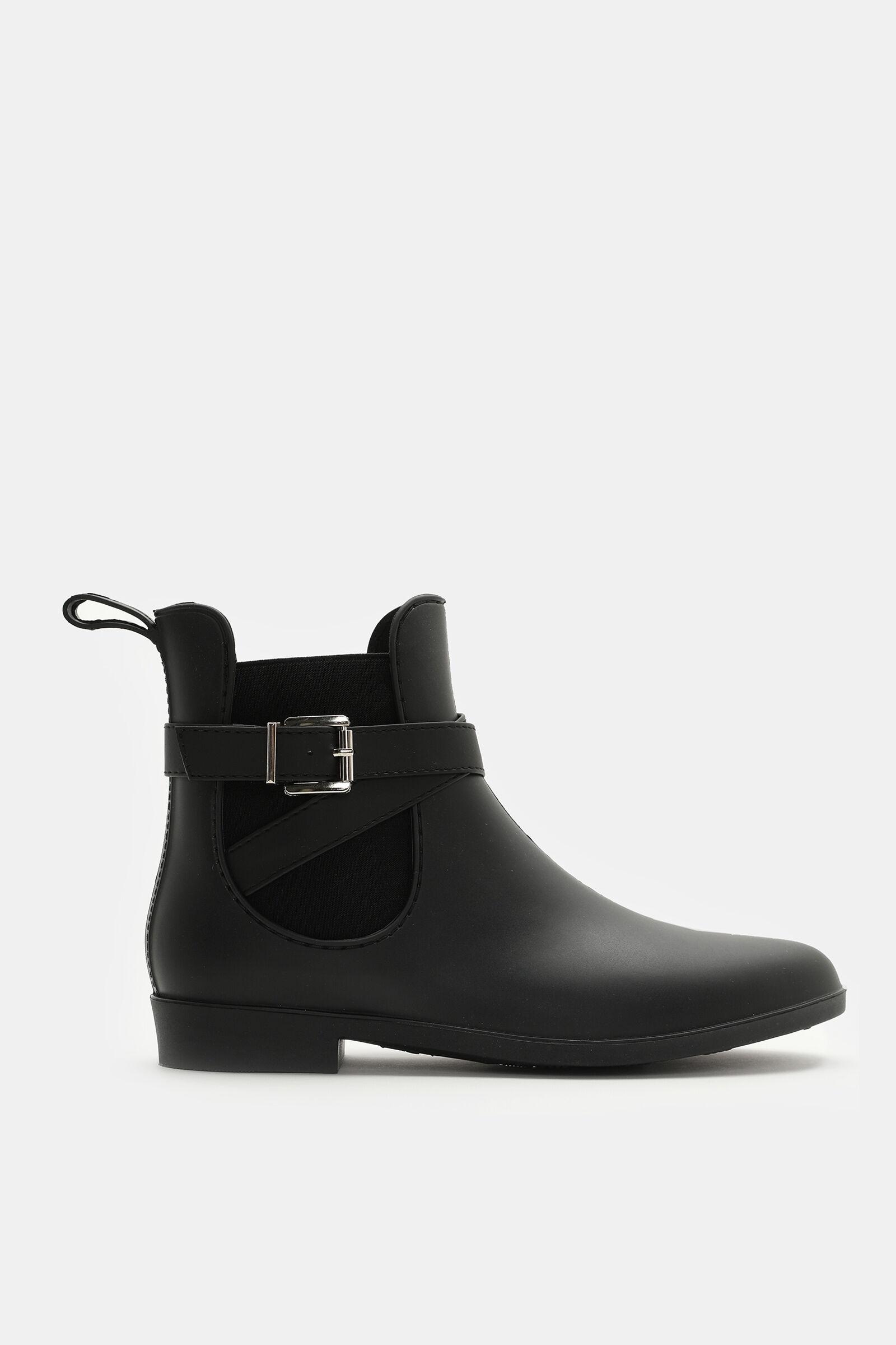 Buckled Ankle Rain Boots - Shoes | Ardene