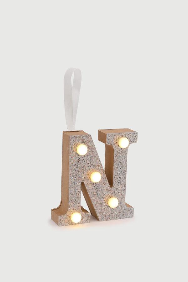 Glitter Letter N