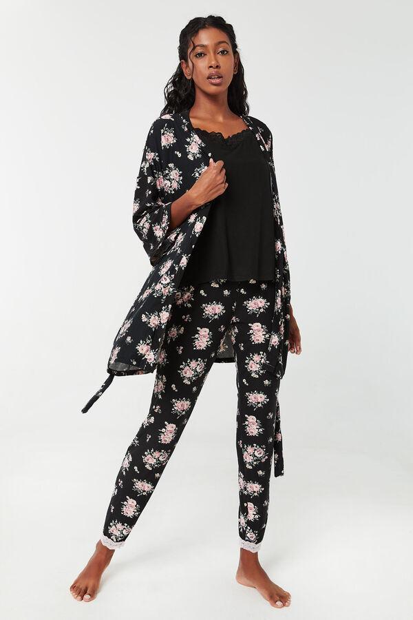 Floral Super Soft 3-Piece PJ Set