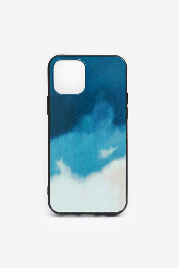 Étui d'iPhone 12 / 12 Pro nuages tie-dye