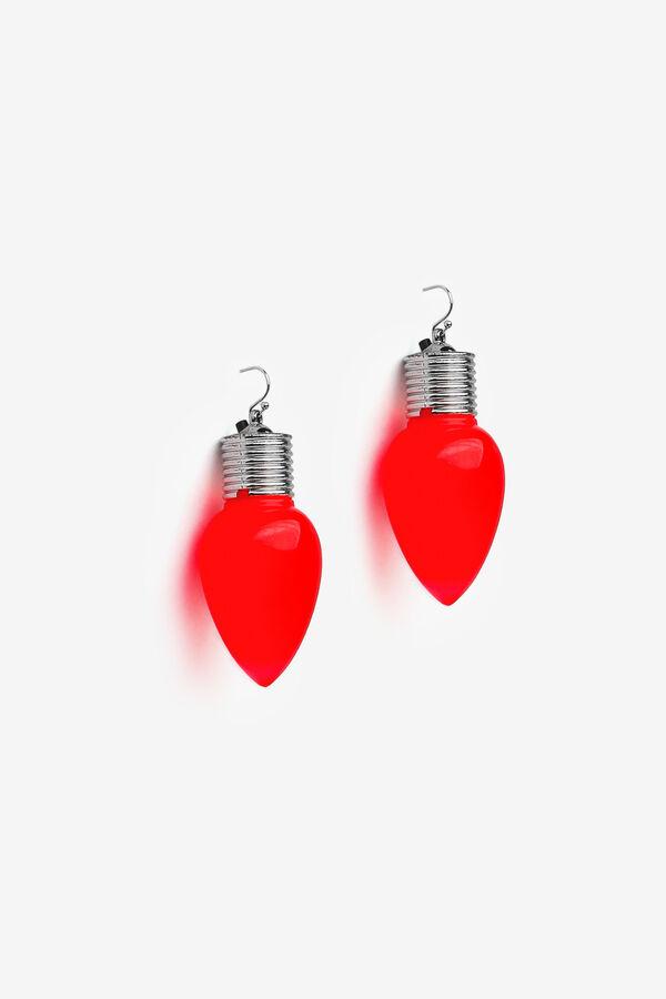 Xmas Light Earrings