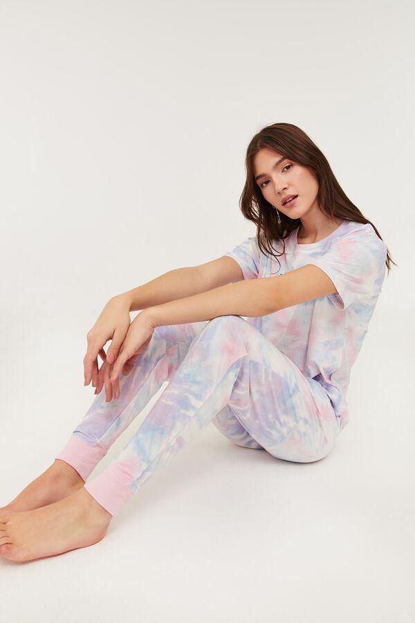 Jogging pyjama tie-dye