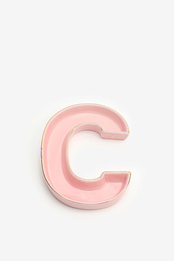 Letter C Trinket Tray