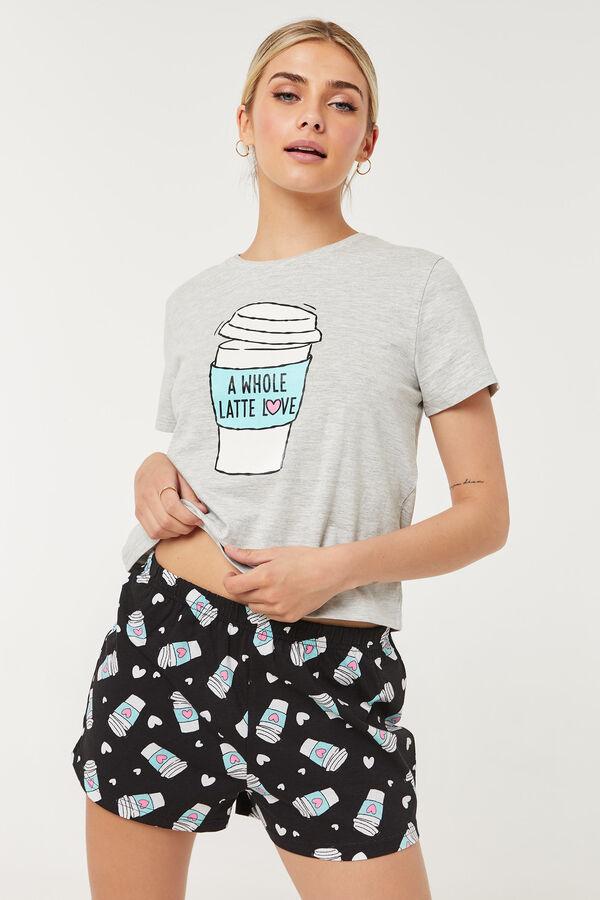 A Whole Latte Love PJ Set