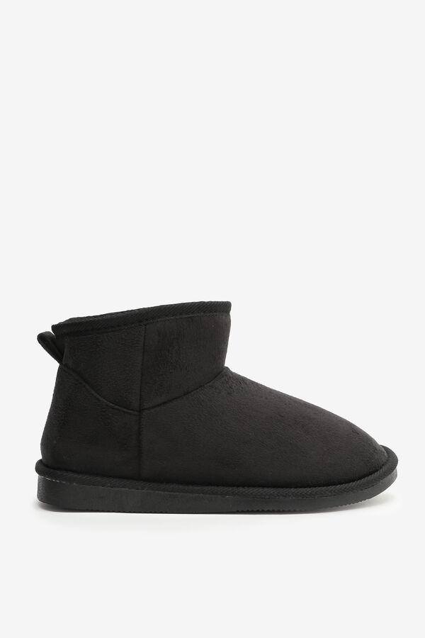 Mini Faux Shearling Boots