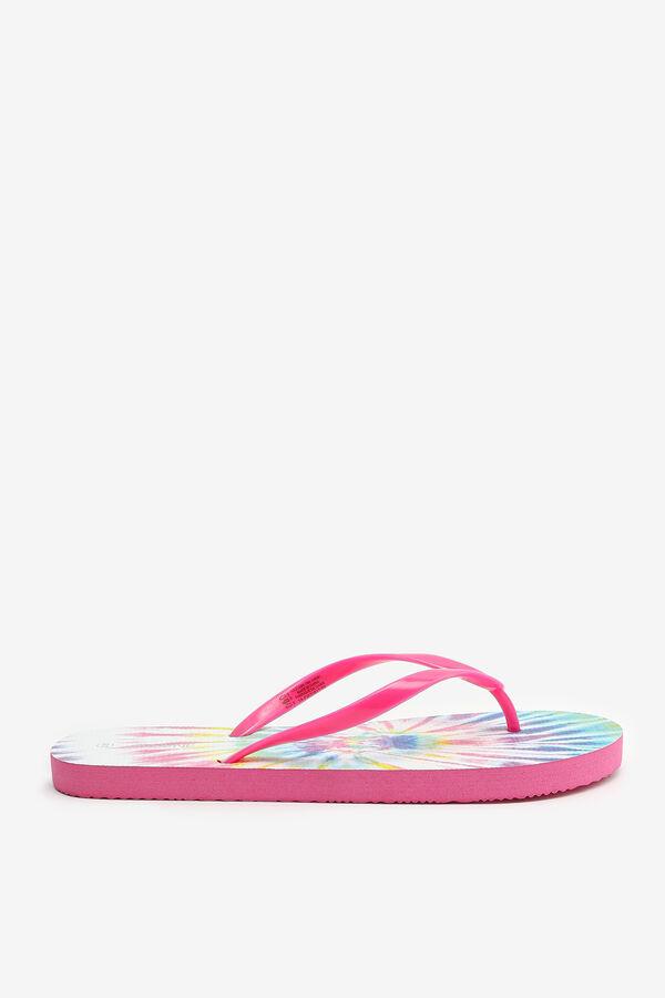 Flip-flops tie-dye