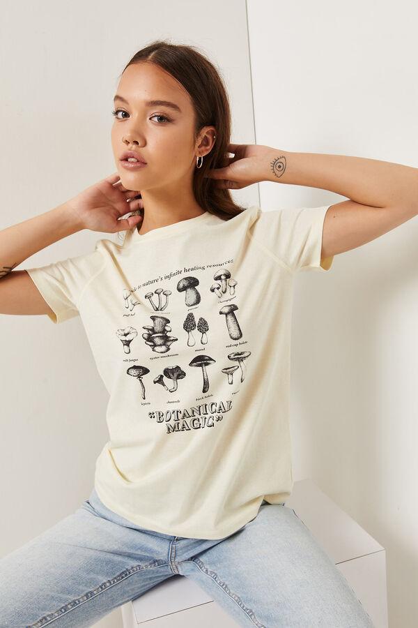 T-shirt classique champignons