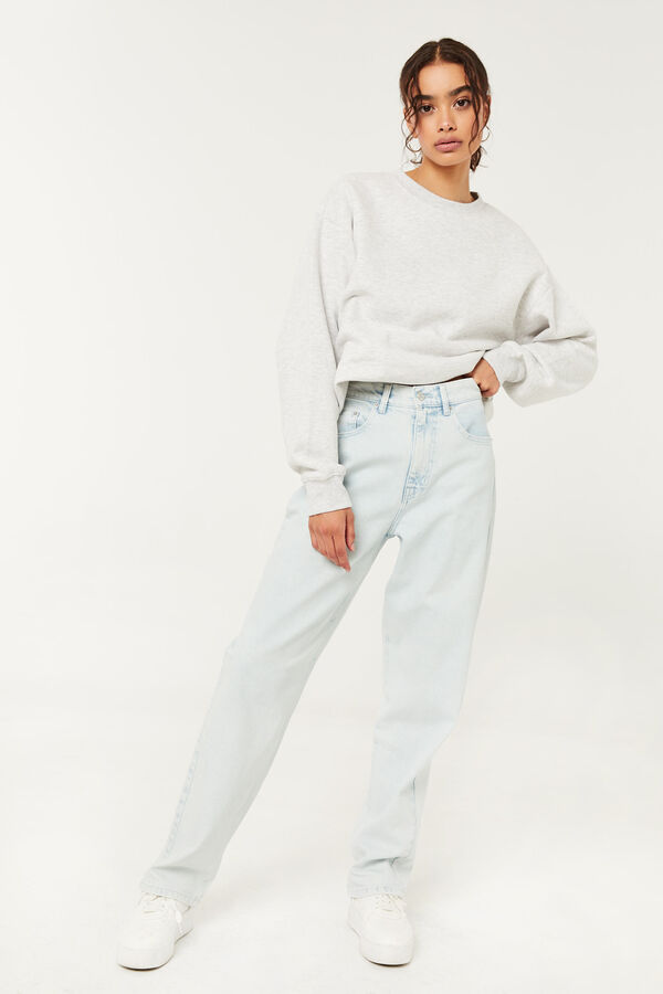 High Rise Baggy Jeans