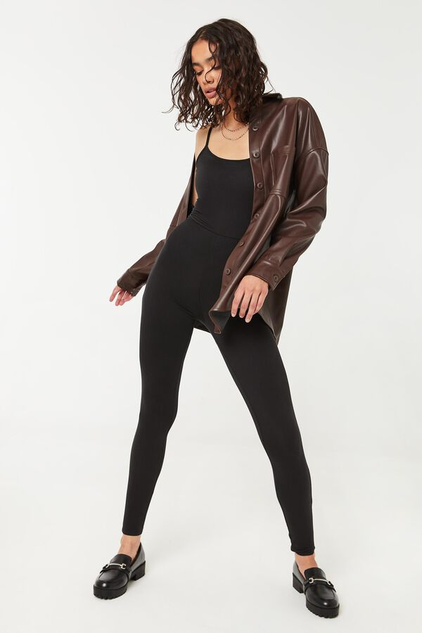 Catsuit with Scoop Neck