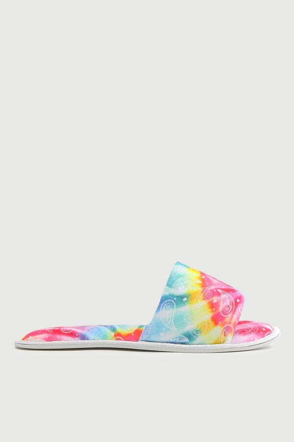 Tie-Dye Slide Slippers