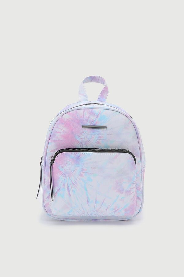 Tie-dye Simple Backpack
