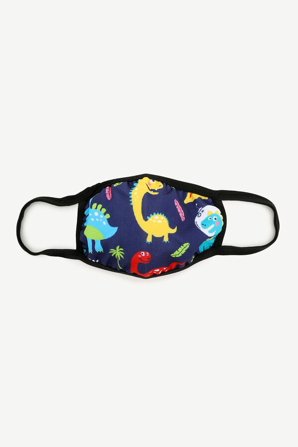 Dino Face Covering for Kids