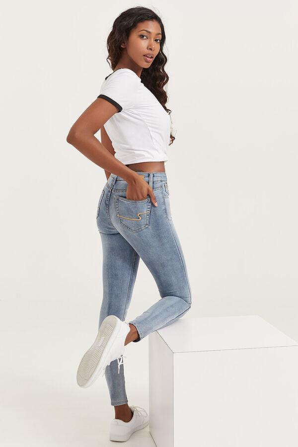 Jean skinny à taille haute